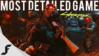 Cyberpunk 2077 Gameplay was Incredible - The most detailed game ever