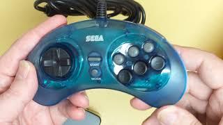NEW Sega Genesis and Saturn Controllers from Retro-Bit