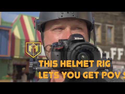 Glide Gear POV 100 DSLR Helmet Cam Rig