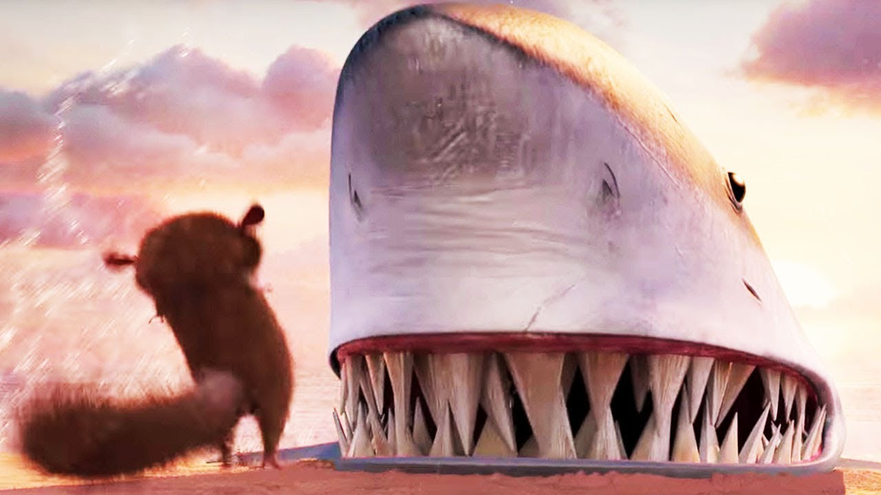 DreamWorks Madagascar | Mort Vs  Shark - Movie Clip