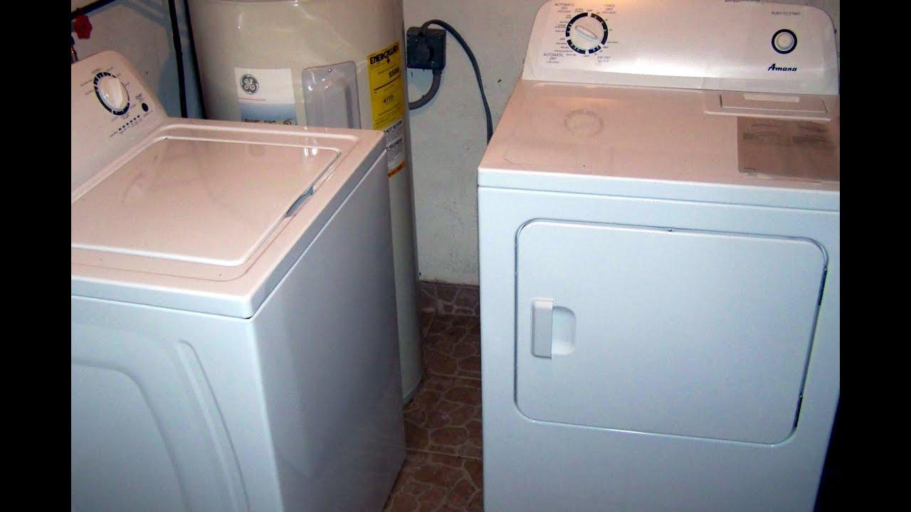 Washing Machine and Dryer January 23 2016 YouTube