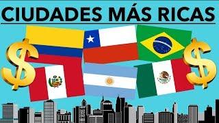 10 CIUDADES MÁS RICAS DE AMÉRICA LATINA