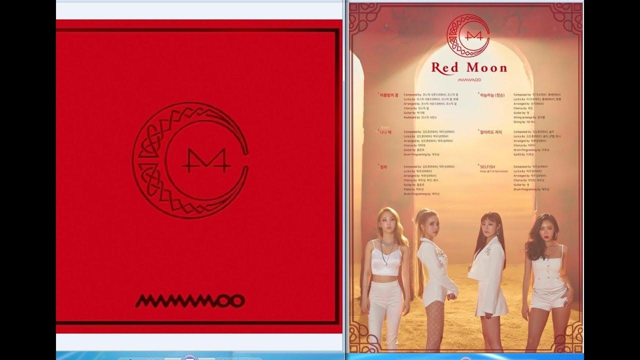 red moon album mamamoo - photo #21