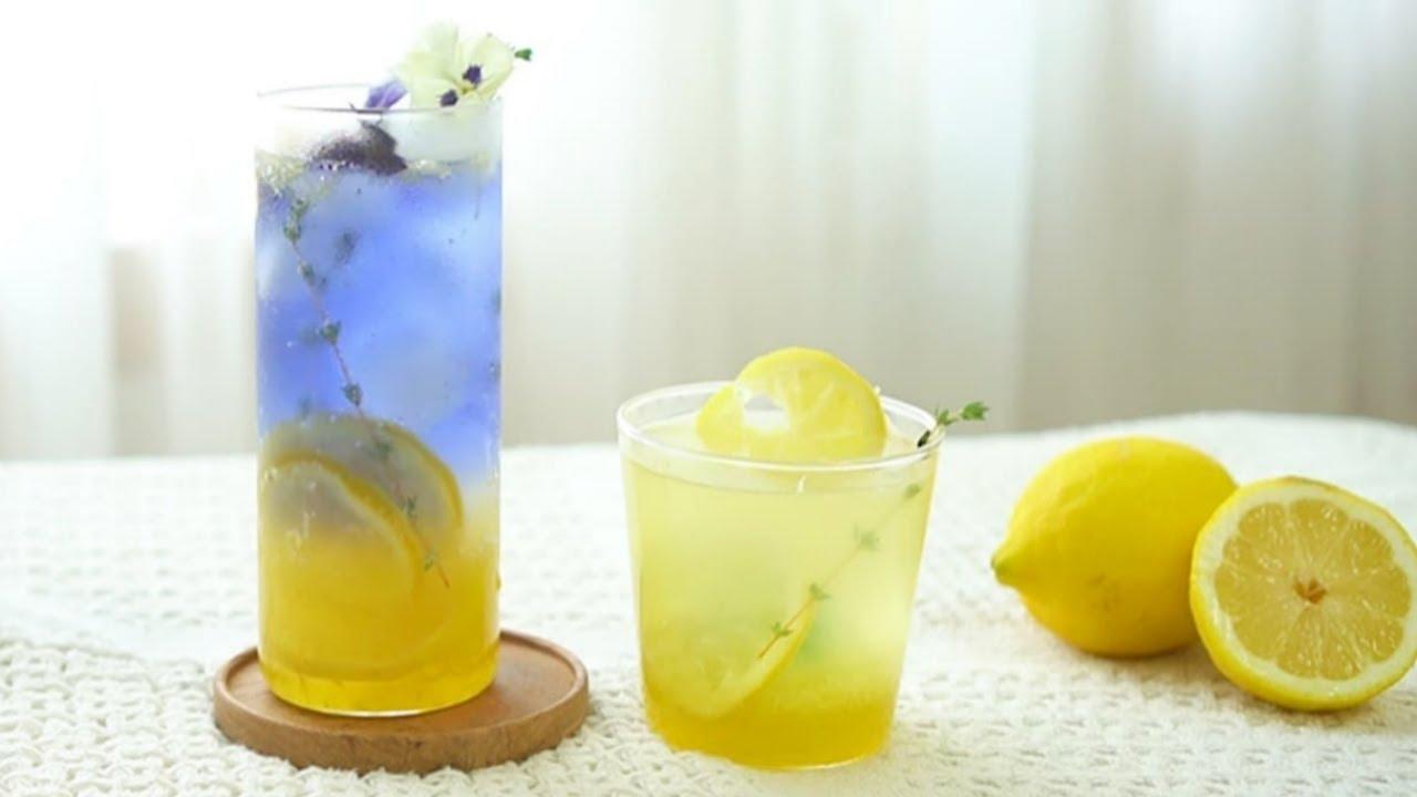 쓴맛 없는 수제 레몬청으로 레몬에이드 & 레몬티 만들기 Lemonade , Lemon Tea :: 지니 Jiny