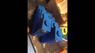 Lego shelves- mounting hardware for wall brackets