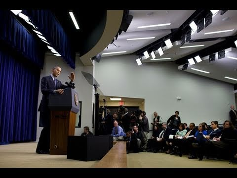 President Obama Addresses the Budget in Press Conference