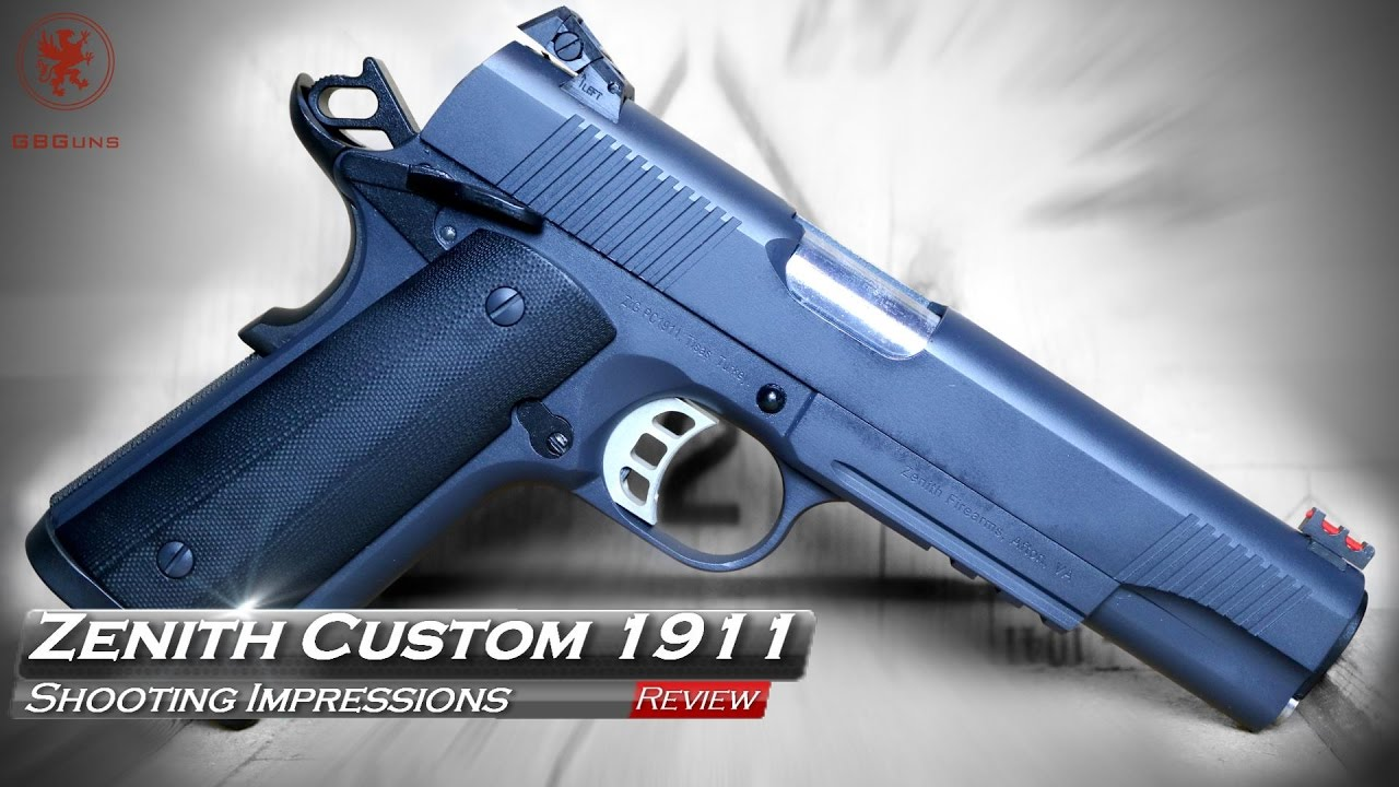 Zenith Firearms Threatens to Change the Custom 1911 Industry ~ VIDEO