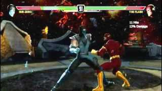 Mortal Kombat vs Dc Universe Funny Commentary/First Video
