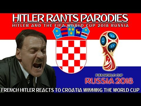 French Hitler reacts to Croatia winning the World Cup Final (Alternative Universe)
