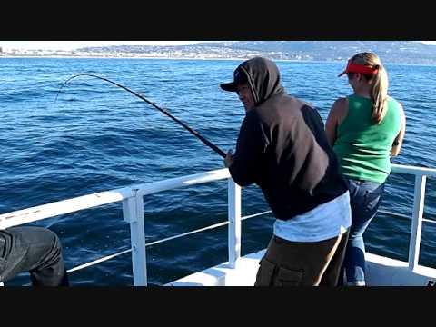 Fishing on the betty g in redondo beach ca youtube for Redondo sport fishing