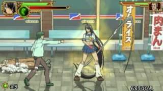 Ikki Tousen - Eloquent Fist PSP Game Video 1 [HQ]