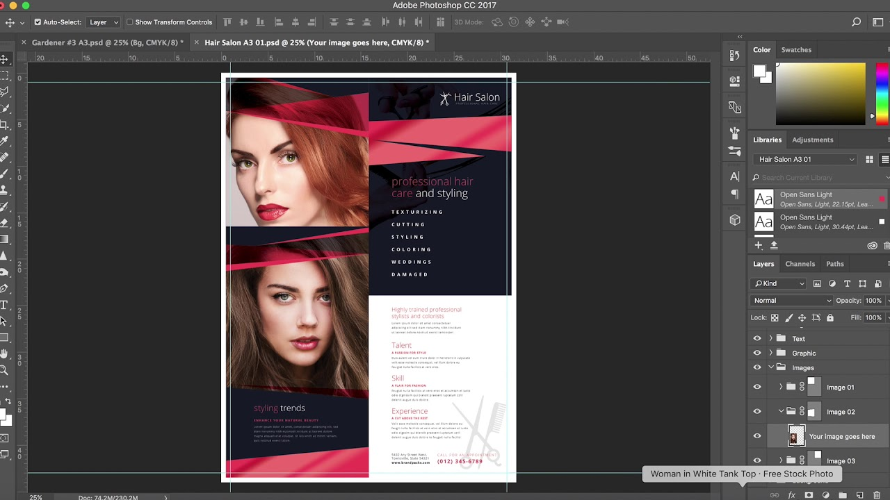 Poster Templates For Photoshop Illustrator Youtube