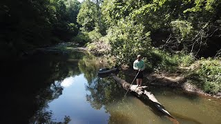 Illinois Trip Part 1 - Kayak Fishing/Camping and Catch and Cook
