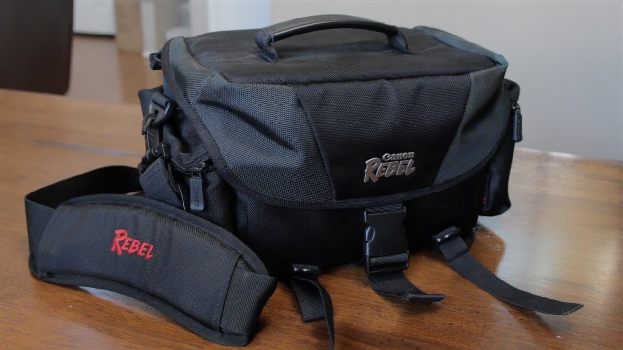 Canon Rebel DSLR Camera Bag Review - YouTube