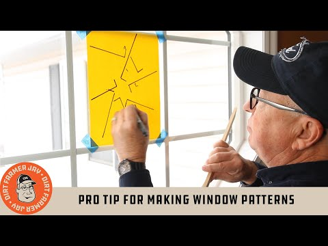 Pro Tip For Making Window Patterns