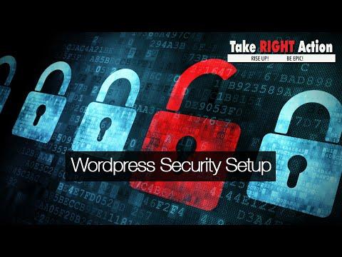 How to Setup Your Wordpress Security
