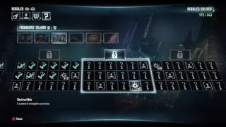 Batman Arkham Knight Let's Play - Riddles Founders Island Grid #1