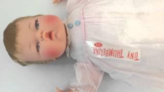 Tiny Thumbelina Vintage Ideal Windup 14