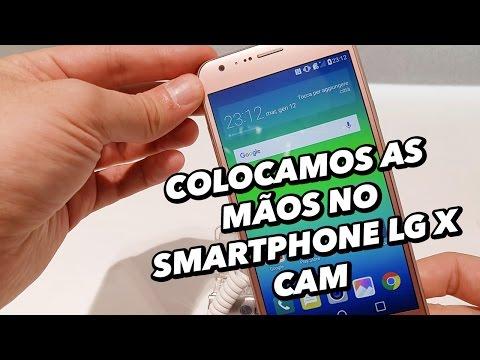 Colocamos As Mãos No Smartphone LG X Cam [Hands On] - MWC 2016