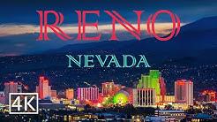 Reno - Nevada - Night Tour [4K]