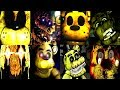 18 GOLDEN FREDDY JUMPSCARES! | FNAF & more
