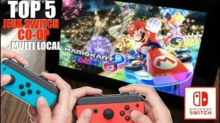 NINTENDO SWITCH | TOP 5 JEUX SWITCH COOP MULTIJOUEURS LOCAL !