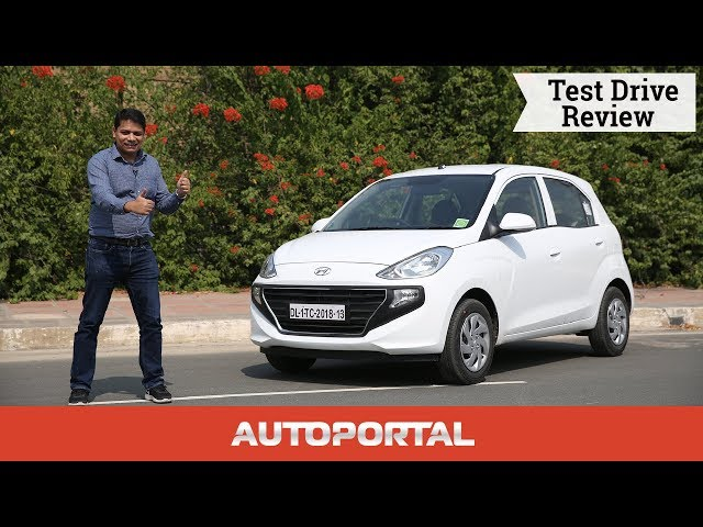 2018 Hyundai Santro Test Drive Review Autoportal Video Watch Now