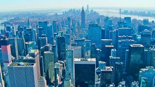 Download Video New York City Aerial Videos, Manhattan Skyline in 4K MP3 3GP MP4