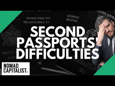 The Hardest Part of Every Second Passport