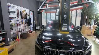 현대자동차 아슬란 차량의 전면유리교체, 앞유리교환 수리…