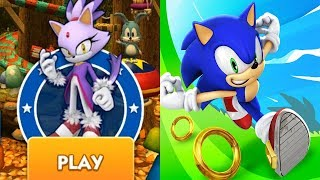 Sonic Dash - BLAZE Android Gameplay Ep 106