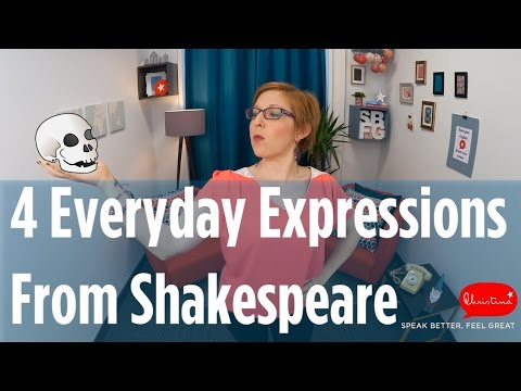 4 Citations Anglaises De William Shakespeare 4 Everyday Shakespeare Quotes In English