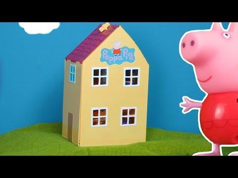 شخصية بيبا: فتح لعبة منزل بيبا