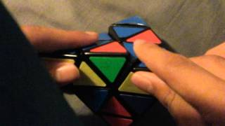 How to do snake or evil eye pattern on pyraminx
