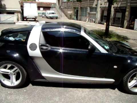 Glastint carbone sur smart roadster coupe youtube - Petite voiture jouet pas cher ...