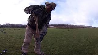 360° VR video. Ground Penetrating Radar. Hunting the hoard in virtual reality