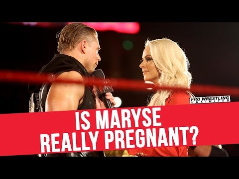 Is Maryse Really Pregnant?