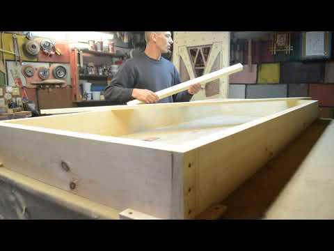 Как самому сделать коробку для двери