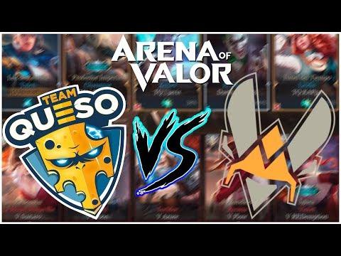 ¡¡TEAM QUESO VS TEAM VITALITY EN RANKED!! | Navalha - Arena of Valor