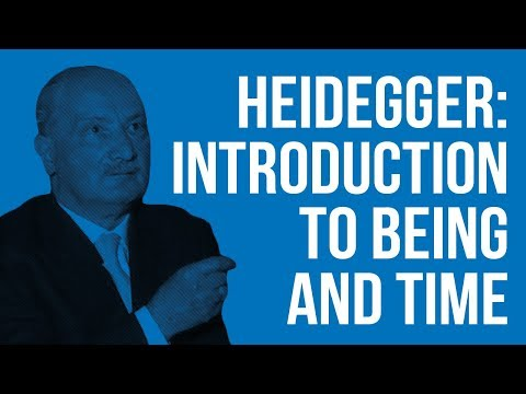 An Introduction to Heidegger: Being and Time