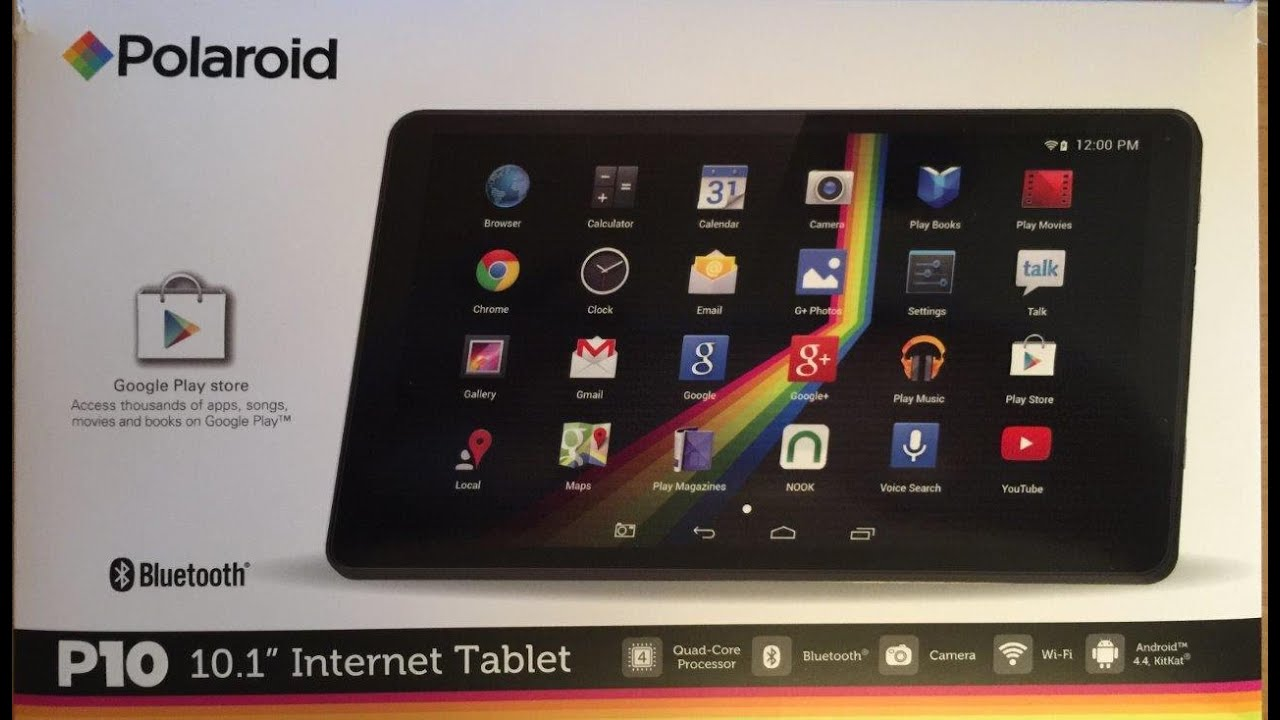 polaroid p10 10 1 internet tablet review youtube rh youtube com mid android tablet pc instruction manual asus android tablet instruction manual
