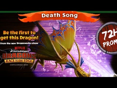 Dragons: Rise of Berk News - LIMITED DEATHSONG AVAILABLE: BECOME A HERO WHEN YOU SUBSCRIBE! ►Subscribe: http://goo.gl/QaOVPf  BECOME A SUPER HERO WHEN YOU SUPPORT THE SHOW! ►https://www.patreon.com/wbangca  I found 135,000 Heroes, will you be the next? Join by subscribing  WB Show T-Shirts ►https://shop.spreadshirt.com/WBshow  Connect Here ►Follow on Google+: https://plus.google.com/+wbangca ►Twitch Stream: http://goo.gl/LuBYRI ►Twitter: https://goo.gl/hocsvr ►Facebook: https://goo.gl/MV0T4y