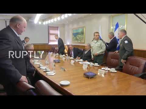 Israel: Russian Defence Minister Shoigu meets with Netanyahu in Jerusalem