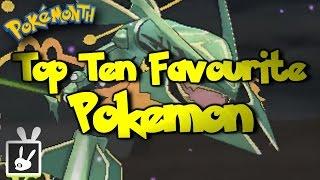 Top Ten Favourite Pokemon