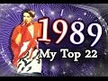 Eurovision Song Contest 1989 - My Top 22 [HD w/ Subbed Commentary]