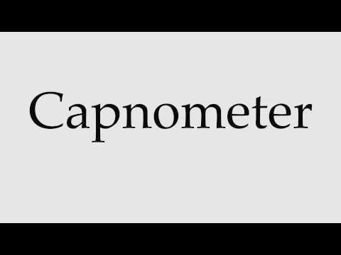 How to Pronounce Capnometer - YouTube