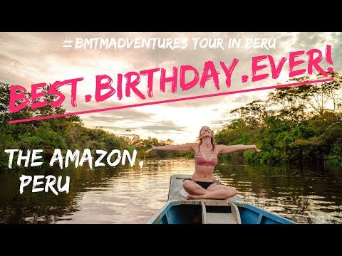 Pink Dolphins & Sloths in THE AMAZON, PERU