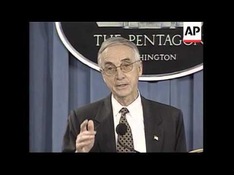 Secretary of the Navy Gordon England on Guantanamo
