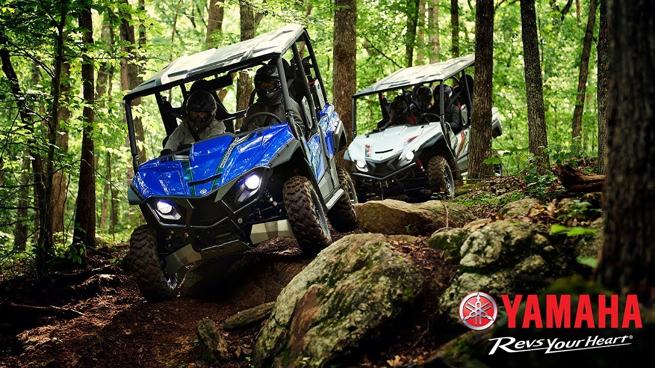All-New 2018 Yamaha Wolverine X4 Side-by-Side