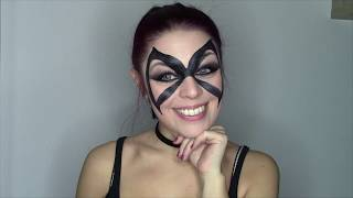 Cosplay/Carnival Party - MARVEL- BLACK CAT Makeup tutorial